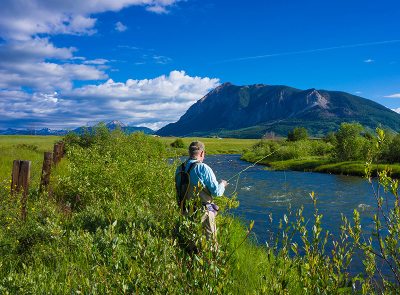 Fishing in Crested Butte CO